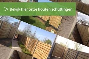 houten schutting portfolio Schutting Service