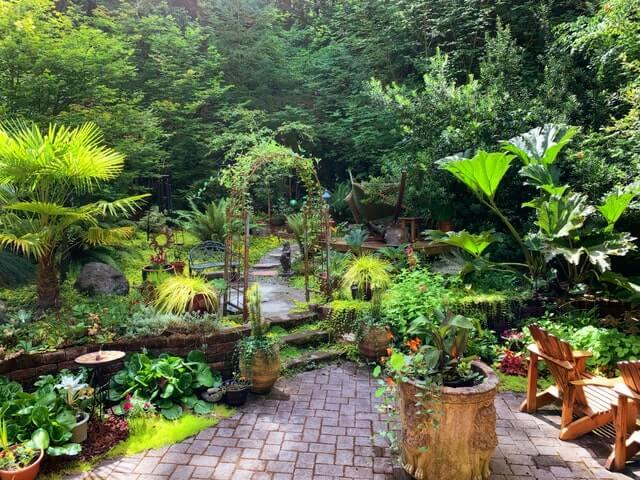 tuintrends van 2021 groene duurzame tuin